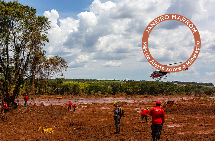 """""""Brown January"""" campaign marks one year of Vale S.A. crime in Brumadinho and alerts to constant mining violations"""